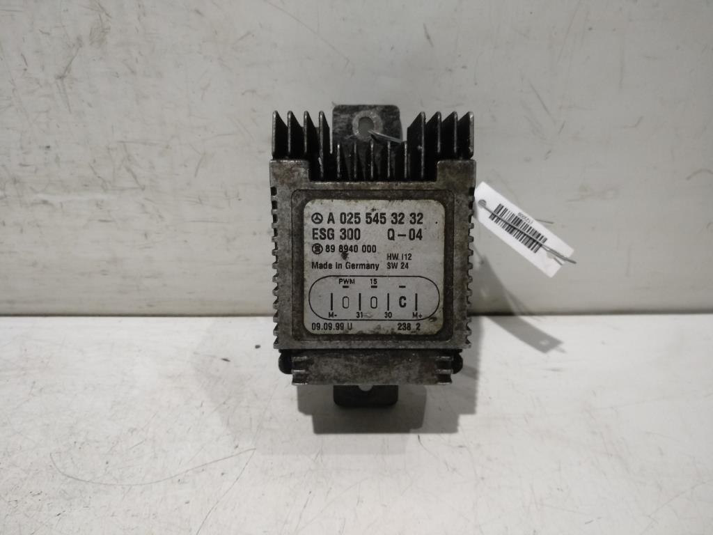 Реле вентилятора   A0255453232,A0225456232,A0275458032