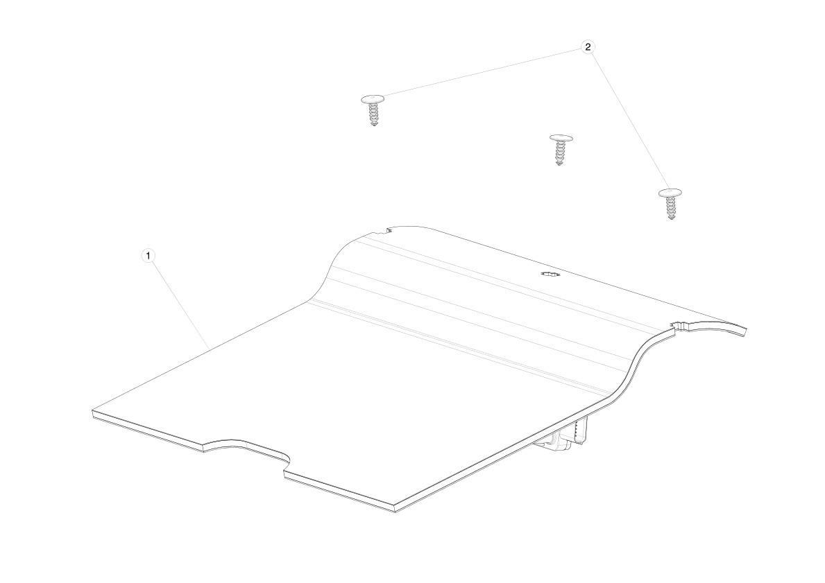 Подушка безопасности Tesla model X 1036756-00-G