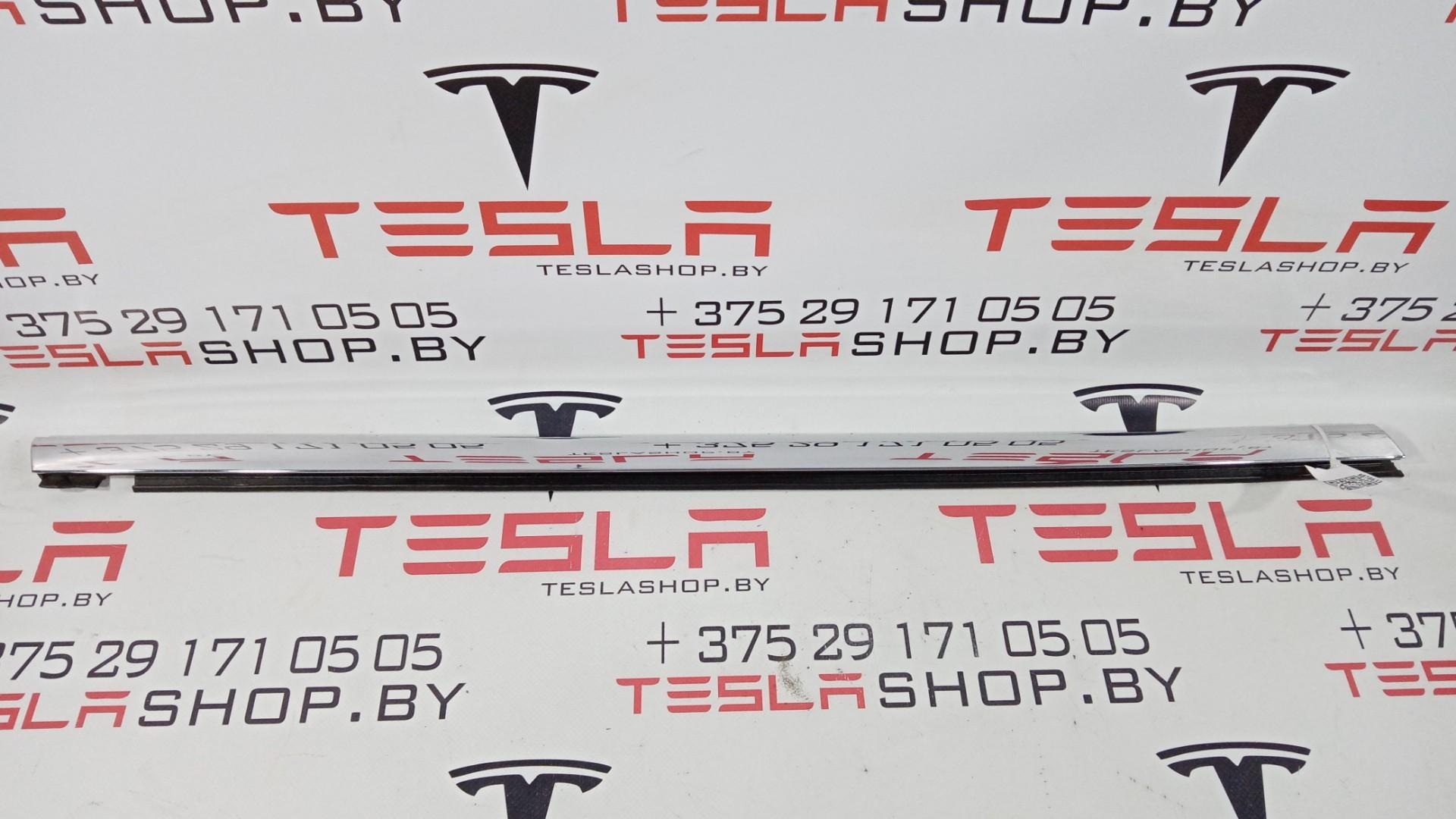 Молдинг (накладка) двери задней правой Tesla  1095921-00-C