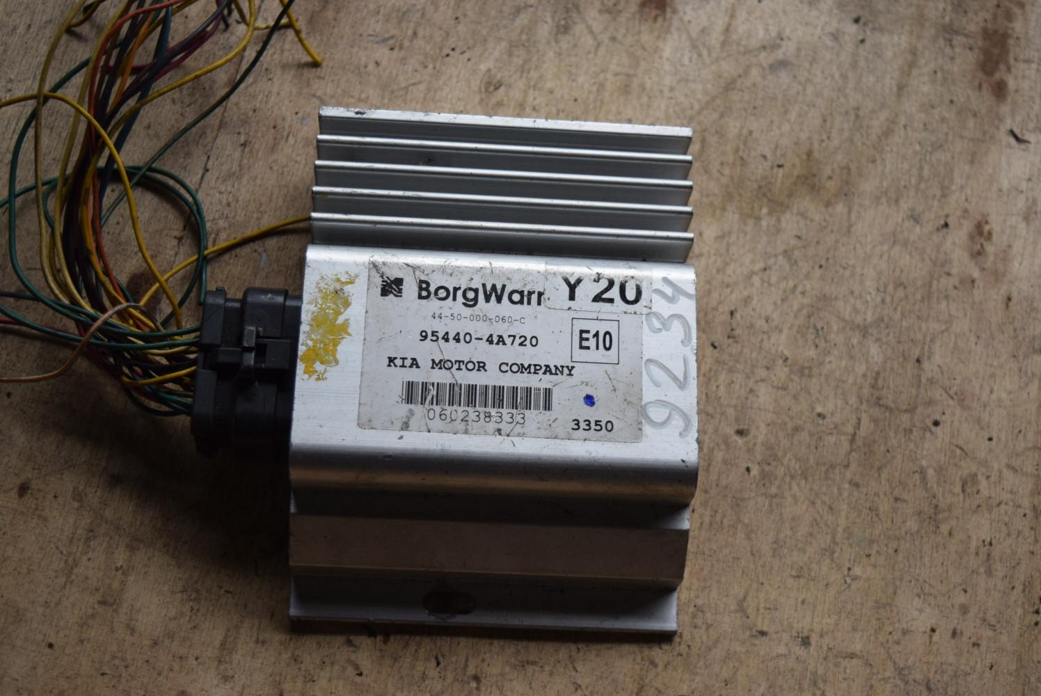 Блок управления полным приводом   954404A720
