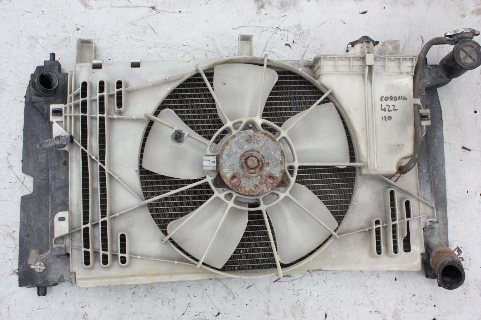 Кассета радиаторов Toyota