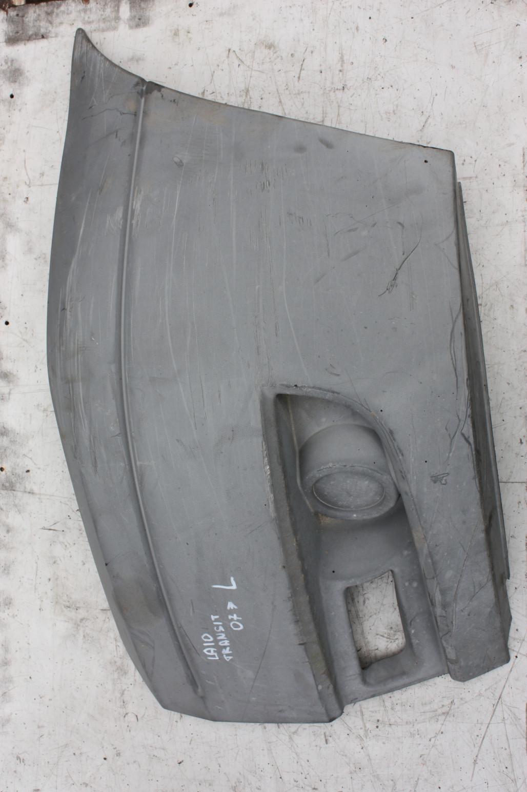Клык бампера передний левый
