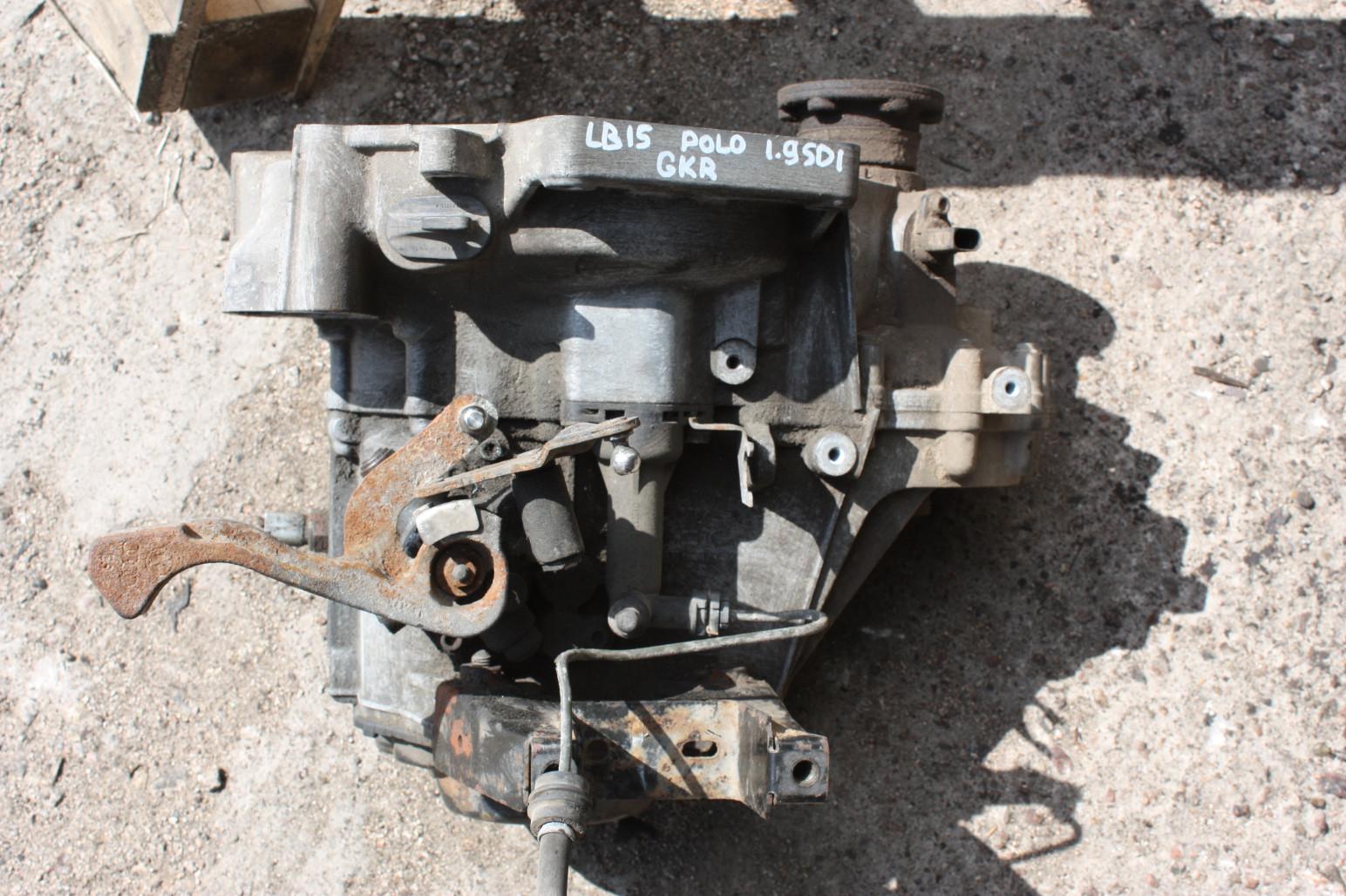 МКПП (Коробка передач механическая)   GKR