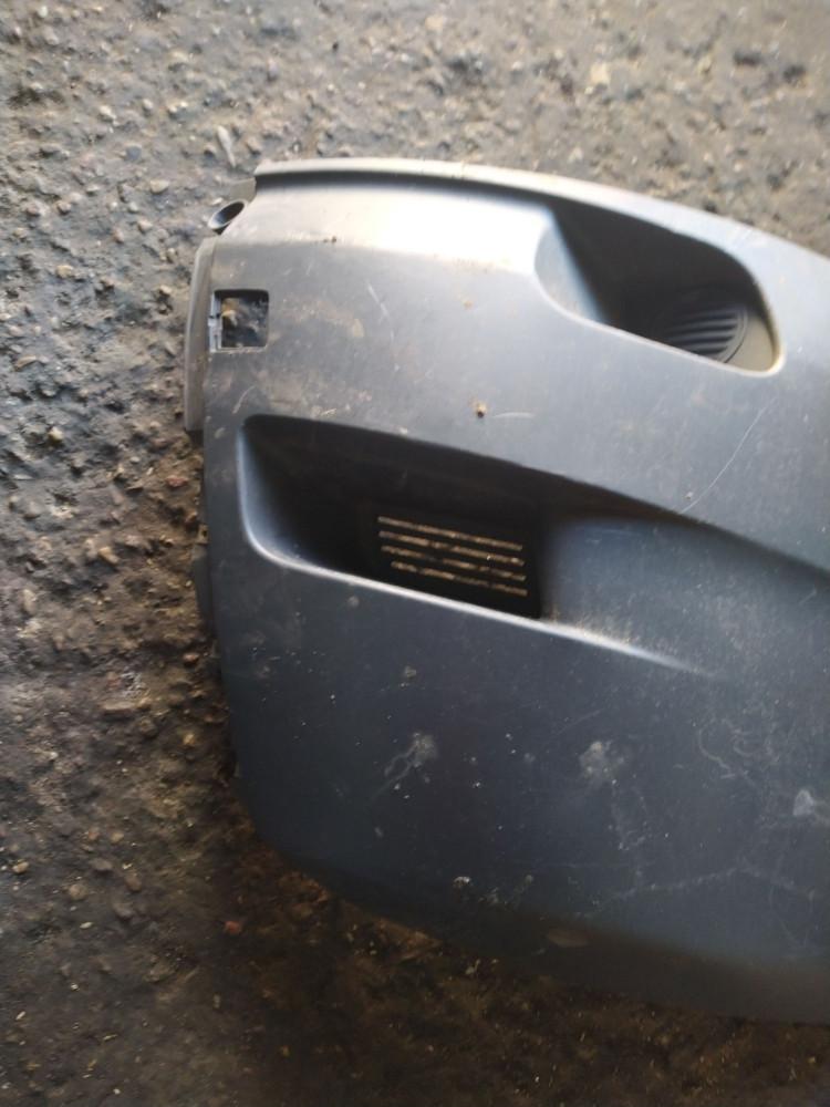 Клык бампера передний правый