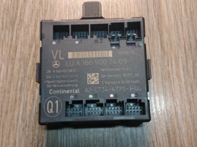 Модуль управления двери   A1669007409,A2-C734-4770-1-0