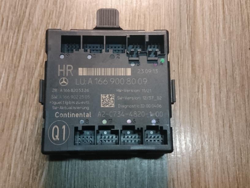 Модуль управления двери   A1669008009,A2-C734-4820-1-0